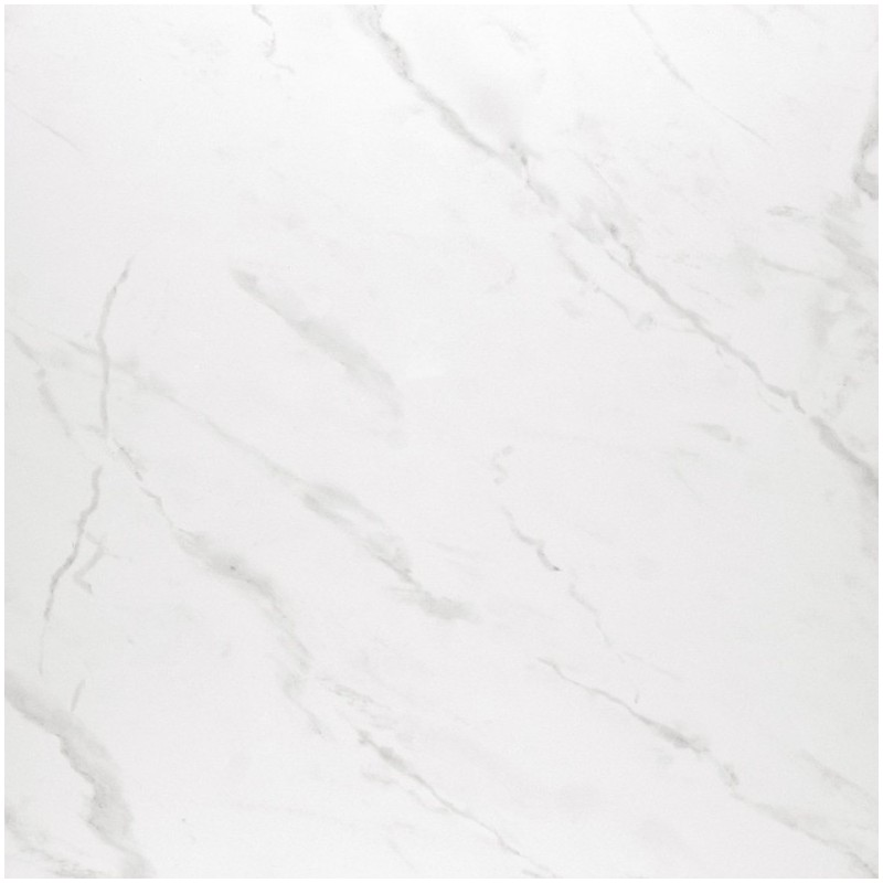 Carrelage sol poli aspect marbre marble white al khiam for Carrelage en marbre blanc