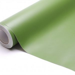 Vinyl film olive-green matt